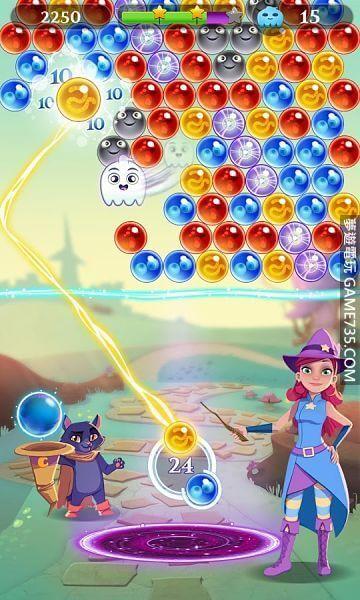 【修改版+中文】泡泡魔女傳奇3 Bubble Witch 3 Saga v6.3.4 修改版 20191122