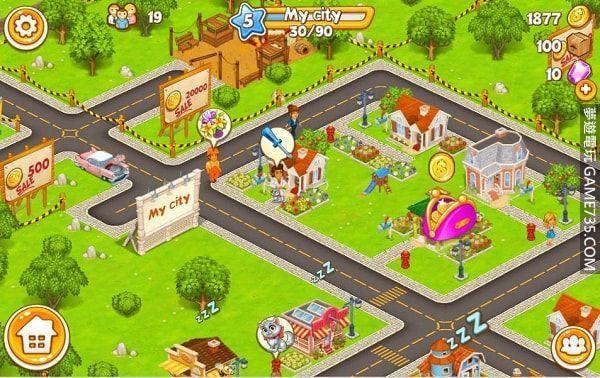 【修改版+中文】動畫城市:農業和城市 Cartoon City: farm to village v1.81 修改版 無限金錢(使用增加) 2021.4.17