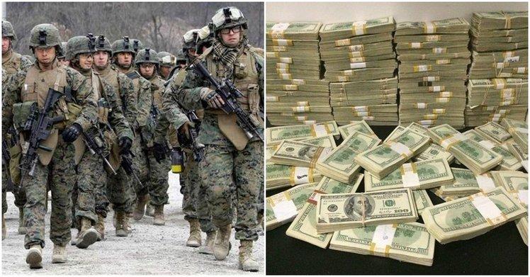 在美國當兵的薪水讓人跌破眼鏡!看完各國軍人的待遇和福利..台灣國軍實在遙不可及啊