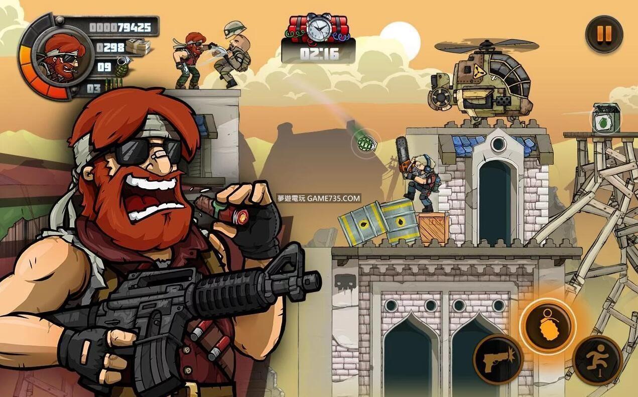 【修改版】金屬戰士2  Metal Soldiers 2 修改版 v2.64 無廣告無限金幣中文20200603