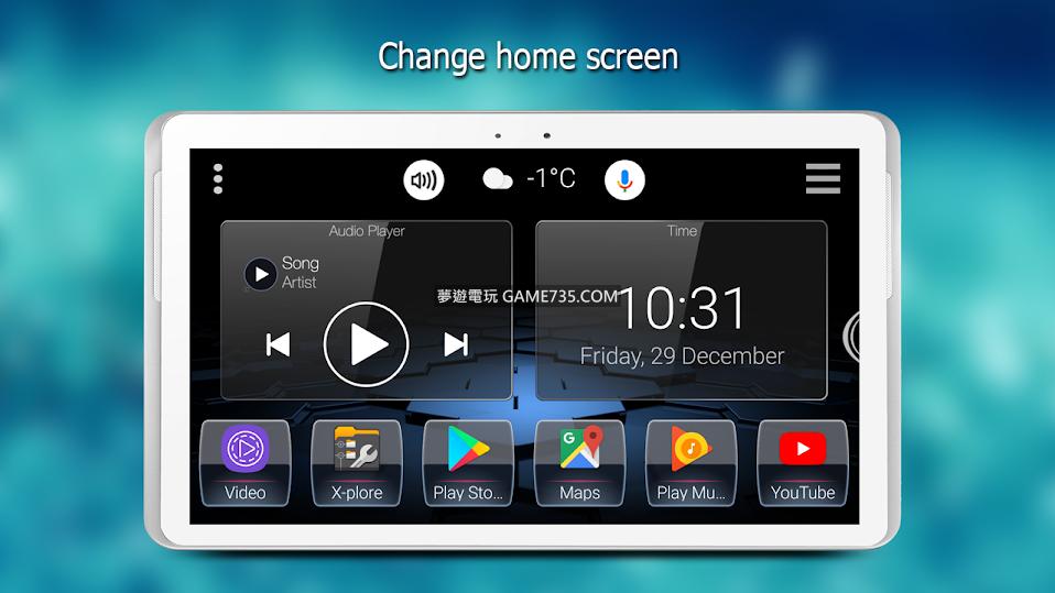 【安卓汽車介面轉換UI】Car Launcher  Pro  繁體中文專業付費版