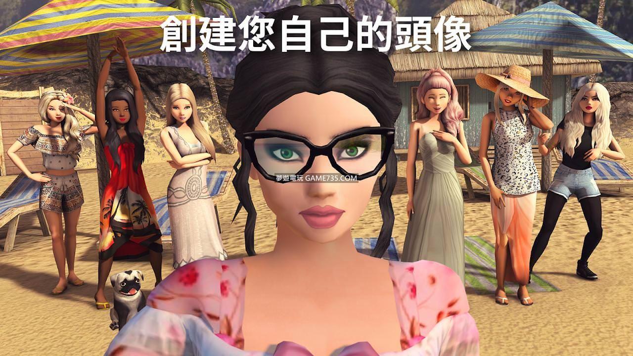 【3D 虛擬世界修改版】Avakin Life V1.042.02  繁中+選單開關+所有物品擁有和解鎖20200528