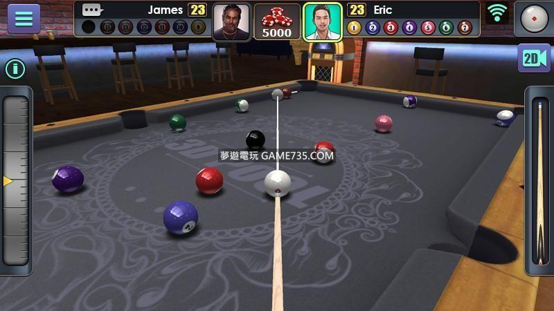 【修改版】撞球3D台球 3D Pool Ball v 2.2.2.1 繁中+ 更新20190825