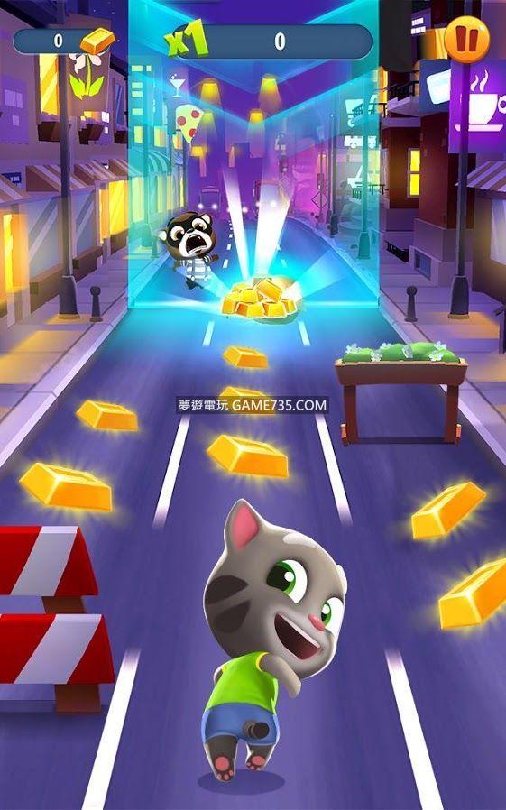 【修改版+繁體】湯姆貓跑酷Talking Tom Gold Run v2.7.6.39 無限金幣 無限炸藥 無限道具 內購破解 移除廣告