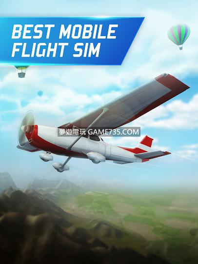 【3D飛行模擬器修改版/繁中】3D飛行模擬器v2.1.10 免連網 無限金幣 無限翻轉次數 解鎖所有飛機
