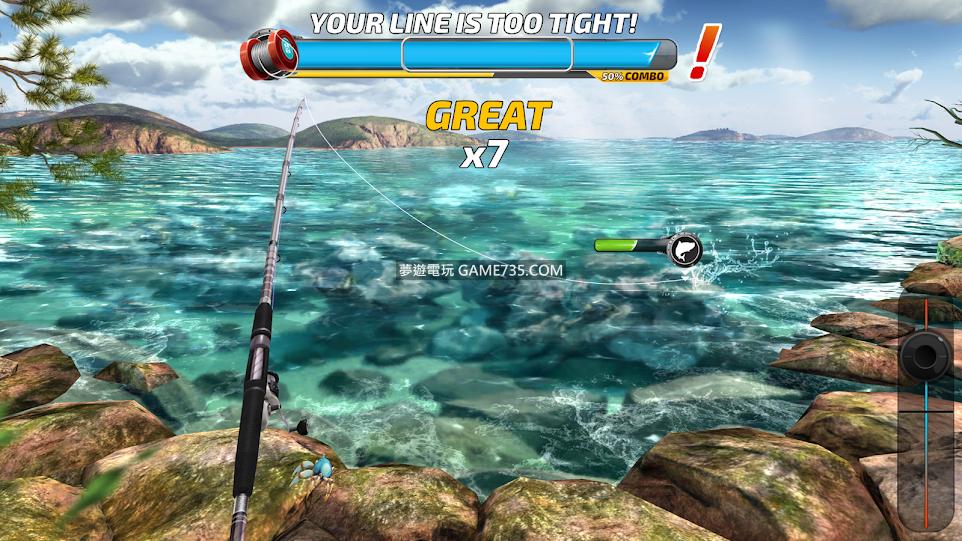 【釣魚衝突修改版+繁中】釣魚衝突v1.0.144  總是Combo 修改Combo倍率 100%捕獲 釣線絕不斷