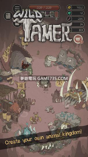 【修改版+中文化版】Wild Tamer 野生馴獸師 v2.29 無限鑽石不減反增 2020.06.02