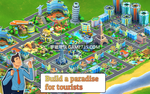 【修改版+中文】City Island: Airport ™ - City Management Tycoon v2.6.2 無限金錢 無限金幣+無限內購