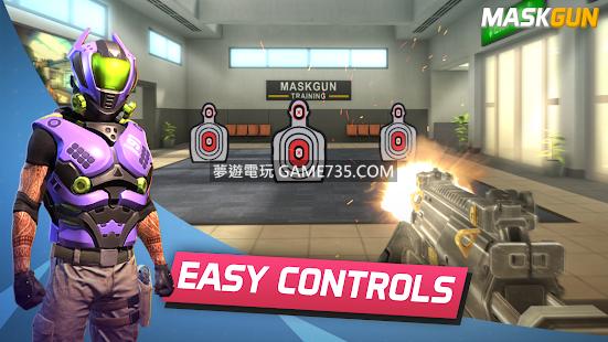 【修改版+中文】MaskGun  v 2.218  免費射擊遊戲 無限子彈 高傷害 選單版 20190312